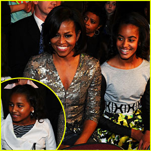 Michelle Obama: Kids' Choice Awards with Malia & Sasha!
