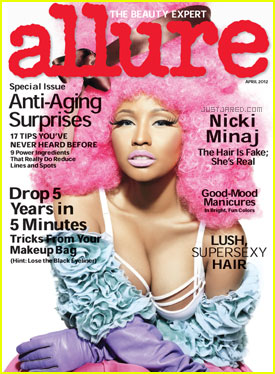 Nicki Minaj Covers 'Allure' April 2012
