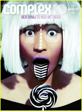 Nicki Minaj Covers 'Complex' April 2012