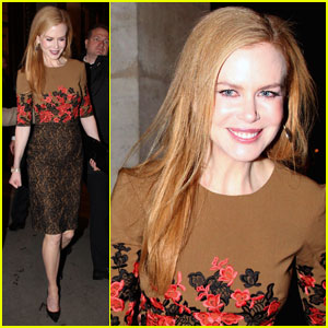 Nicole Kidman: Tod's Party in Paris!