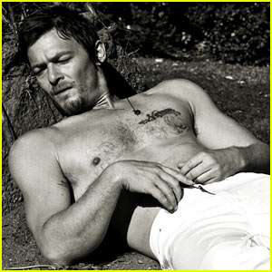 Norman Reedus: 'Flaunt' Feature