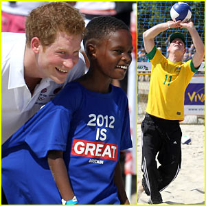 Prince Harry: Rio Makes Me Want To Dance!