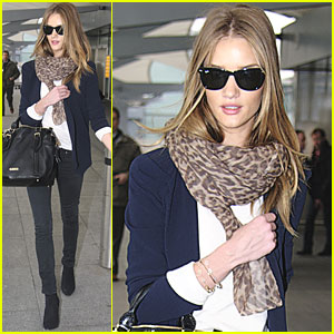 Rosie Huntington-Whiteley & Jason Statham: L.A. to London!