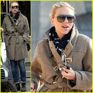 Scarlett Johansson: Place des Vosges in Paris!