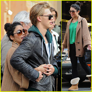 Vanessa Hudgens & Austin Butler: SoHo Sweethearts on St. Patty's Day!