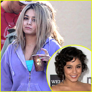 Vanessa Hudgens: Blonde for 'Spring Breakers'!