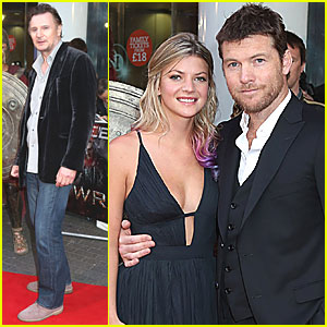 Sam Worthington: 'Titans' London Premiere!