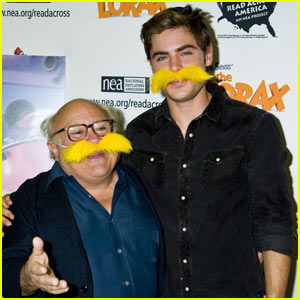 Zac Efron: 'Lorax' Reading at NY Public Library!