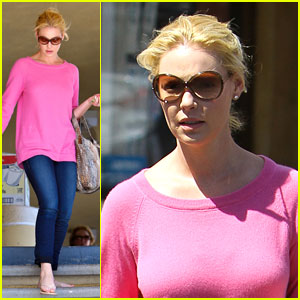 Katherine Heigl: Nail Day!