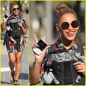 Beyonce &#038; Blue Ivy Carter: Central Park Pair