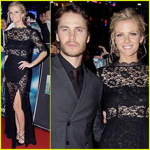 Brooklyn Decker: 'Battleship' South Korea Premiere with Taylor Kitsch!