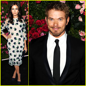 Camilla Belle & Kellan Lutz: Chanel Artist Dinner at Tribeca!