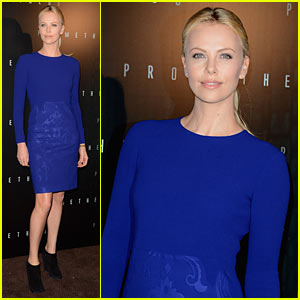 Charlize Theron: Prometheus in Paris!