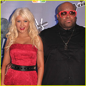 Christina Aguilera & Cee Lo Green Recording a New Song Together!