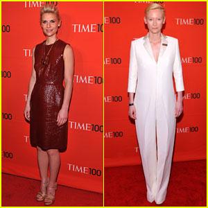 Claire Danes & Tilda Swinton: Time 100 Gala!
