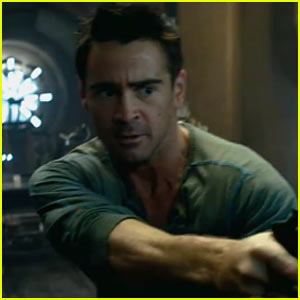 Colin Farrell: 'Total Recall' Trailer Released!
