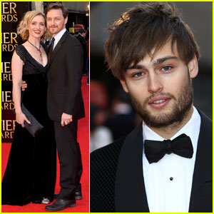 James McAvoy &#038; Douglas Booth: Olivier Awards 2012!