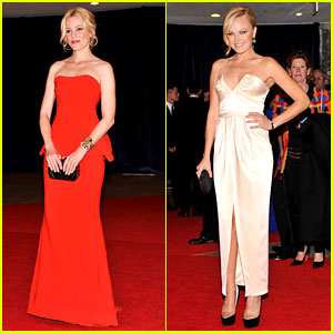 Elizabeth Banks & Malin Akerman - White House Correspondents' Dinner 2012