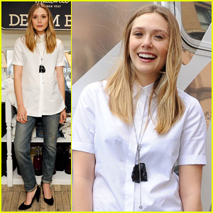 Elizabeth Olsen: Madewell Denim Road Trip!