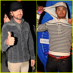 Gerard Butler: Neon Carnival with Kellan Lutz!