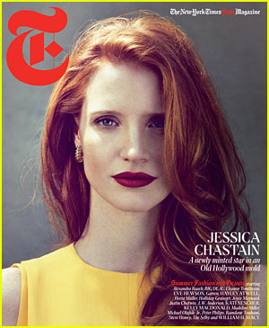 Jessica Chastain: 'T' Magazine Cover for New