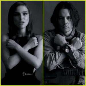 Natalie Portman & Johnny Depp: 'My Valentine' Video Stars!