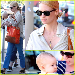 January Jones: Emmy Award Strategy Change!