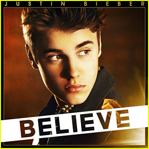 Justin Bieber: 'Believe' Album Cover!