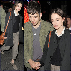 Keira Knightley & James Righton: Soho Lovers!