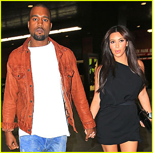 Kim Kardashian & Kanye West: 'Wicked' Date in NYC