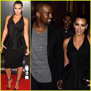 Kim Kardashian & Kanye West: Holding Hands!