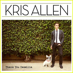 Kris Allen: 'Thank You Camellia' Album Art Revealed!