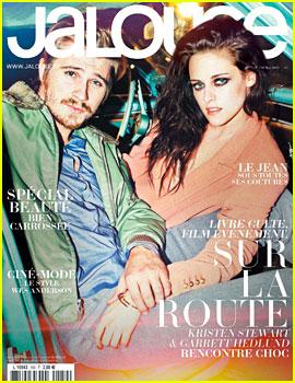 Kristen Stewart & Garrett Hedlund Cover 'Jalouse' May 2012
