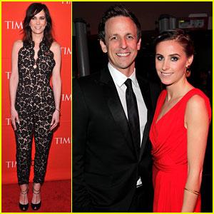 Kristen Wiig & Seth Meyers: Time 100 Gala!