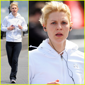 Claire Danes: West Side Greenway Jog!