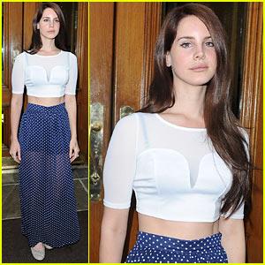 Lana Del Rey: Sheer Polka Dots!