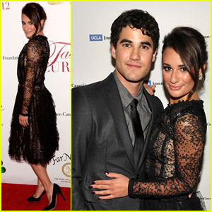 Lea Michele &#038; Darren Criss: Taste For A Cure Gala