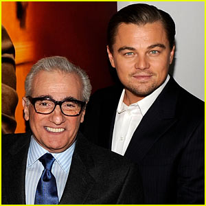 Leonardo DiCaprio &#038; Martin Scorcese: 'Wolf of Wall Street' Team!