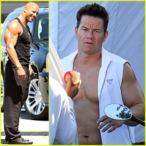 Mark Wahlberg: 'Pain and Gain' Abs!