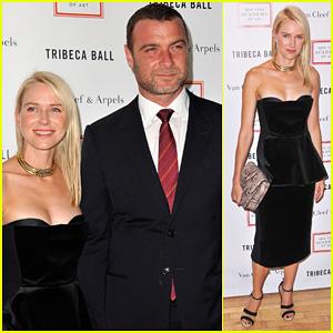 Naomi Watts & Liev Schreiber: 2012 Tribeca Ball