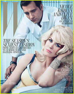 Nicole Kidman & Clive Owen Cover 'W' May 2012