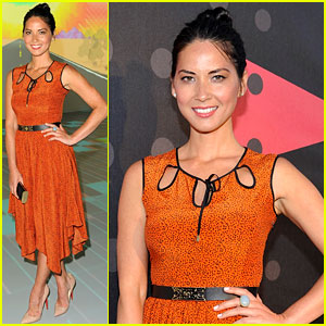 Olivia Munn: Mercedes-Benz Club Party!