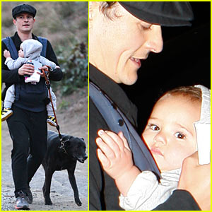Orlando Bloom: Runyon with Flynn & Sidi!