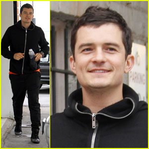 Orlando Bloom: Post-Workout Smiles