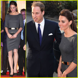 Prince William & Kate: Imperial War Museum Reception