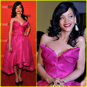 Rihanna: Time 100 Gala!