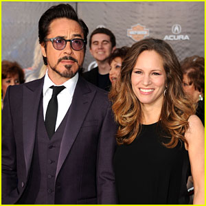 Robert Downey, Jr.: 'Avengers' Premiere with Wife Susan!