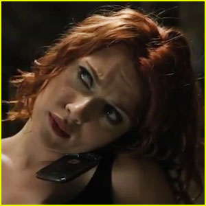 Scarlett Johansson's 'Avengers' Action Scene - Watch Now!