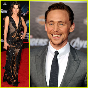 Tom Hiddleston & Cobie Smulders: 'Avengers' Premiere!