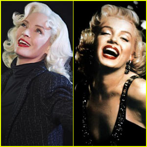 Uma Thurman as Marilyn Monroe - First Pics!